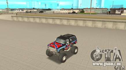 Chevrolet Blazer K5 Monster Skin 1 pour GTA San Andreas