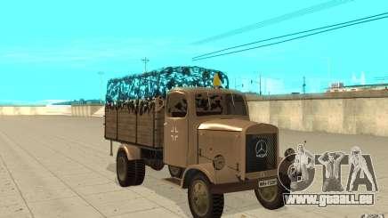 MERCEDES-BENZ L3000 v2.0 pour GTA San Andreas