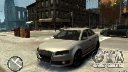 Audi RS4 d'argent pour GTA 4