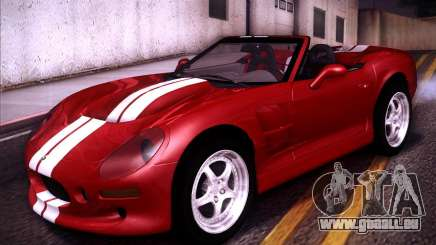 Shelby Series One 1998 pour GTA San Andreas
