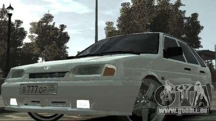 ВАЗ 2114 Tuning du Daghestan pour GTA 4