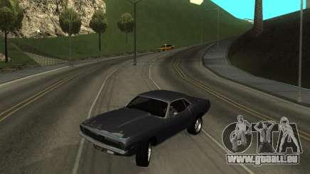 1970 Plymouth Baracuda pour GTA San Andreas