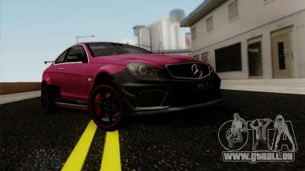 Mercedes Benz C63 AMG Coupe Presiden Indonesia pour GTA San Andreas