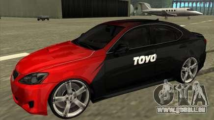 Lexus IS350 de NFS Pro street pour GTA San Andreas