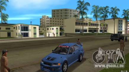 Mitsubishi Lancer Evo VI pour GTA Vice City