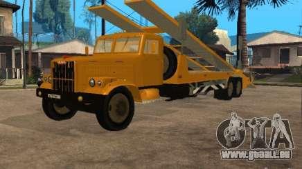 KrAZ 255-Auto-transporter für GTA San Andreas