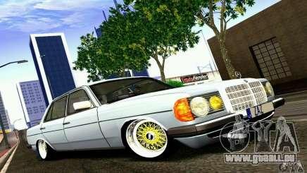 Mercedes Benz W123 für GTA San Andreas