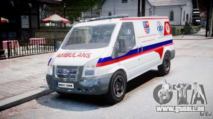 Ford Transit Polish Ambulance [ELS] für GTA 4