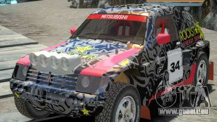 Mitsubishi Pajero Proto Dakar EK86 Vinyl 1 für GTA 4