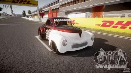 Willys Americar 1941 für GTA 4