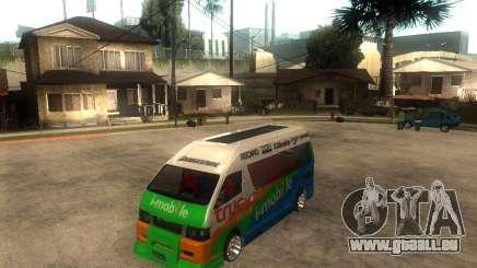 Toyota Commuter VIP Van pour GTA San Andreas