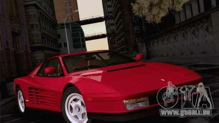 Ferrari Testarossa 1986 für GTA San Andreas