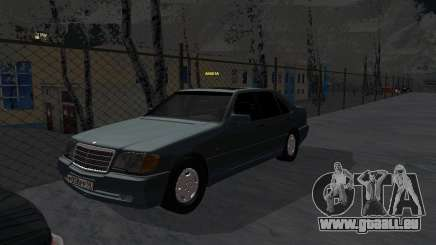 Mercedes-Benz W124 pour GTA San Andreas