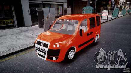 Fiat Doblo 1.9 2009 pour GTA 4