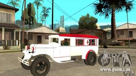 Ambulance GAZ AA pour GTA San Andreas