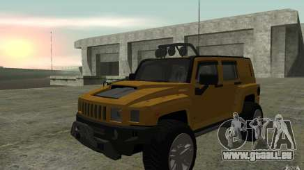 Hummer H3R pour GTA San Andreas