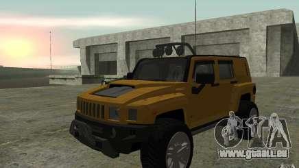 Hummer H3R für GTA San Andreas