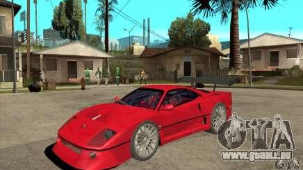 Ferrari F40 2000 Extreme für GTA San Andreas