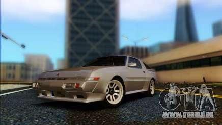 Mitsubishi Starion ESI-R 1986 pour GTA San Andreas
