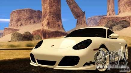 Porsche Cayman R 987 2011 V1.0 pour GTA San Andreas