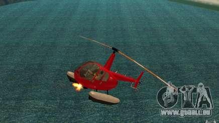 Robinson R44 Clipper II 1.0 pour GTA San Andreas