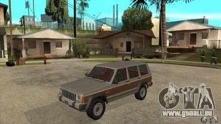 Jeep Cherokee 1984 pour GTA San Andreas