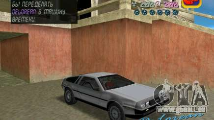 DeLorean DMC 12 für GTA Vice City