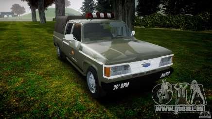 Chevrolet D20 Brigada Militar RS für GTA 4