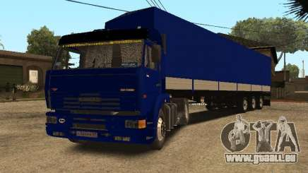 KAMAZ 5460 Truckers 2 für GTA San Andreas