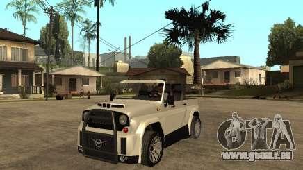 Uaz Cabriolet für GTA San Andreas