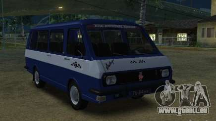RAF Latvia 2203-Taxi für GTA San Andreas