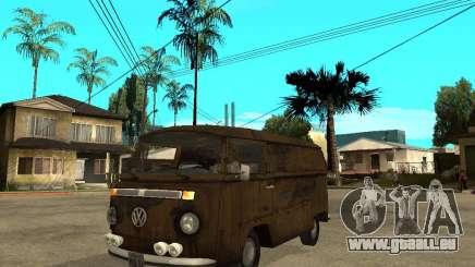 VW Transporter T2 1967 pour GTA San Andreas