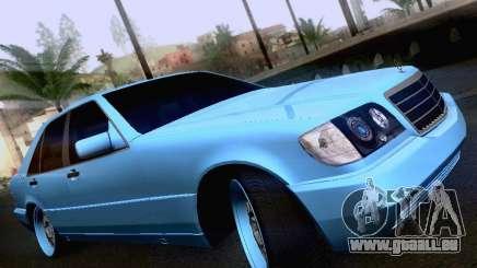 Mercedes-Benz S-Class W140 für GTA San Andreas