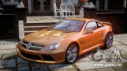 Mercedes-Benz SL65 AMG Black Series pour GTA 4