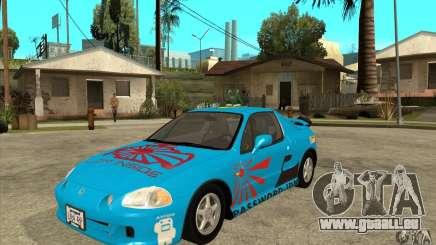 Honda CRX - DelSol pour GTA San Andreas