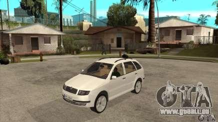 Skoda Fabia Combi pour GTA San Andreas