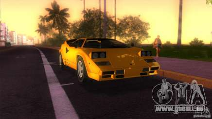 Lamborghini Countach pour GTA Vice City