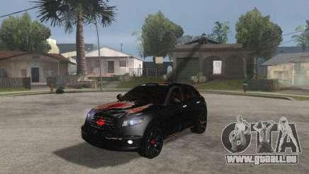 Infiniti FX35 für GTA San Andreas
