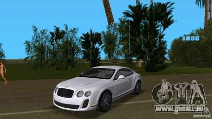 Bentley Continental Supersport pour GTA Vice City