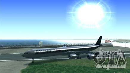 Airbus A340-600 Singapore Airlines für GTA San Andreas