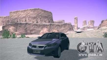 Lexus CT200H 2012 für GTA San Andreas