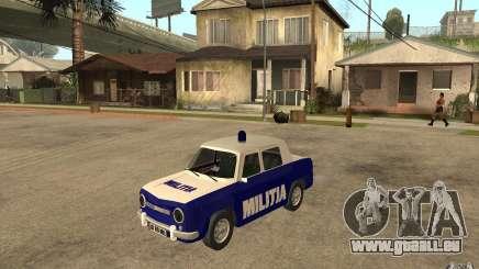 Dacia 1100 Militie pour GTA San Andreas