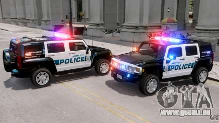 Hummer H3X 2007 LC Police Edition ELS pour GTA 4