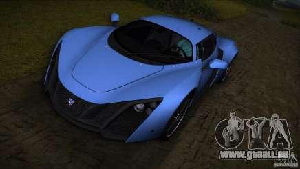Marussia B2 2010 für GTA Vice City