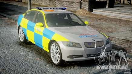 BMW 350i Indonesian Police Car [ELS] für GTA 4