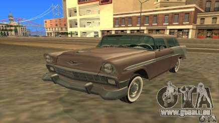 Chevrolet Bel Air Nomad 1956 pour GTA San Andreas