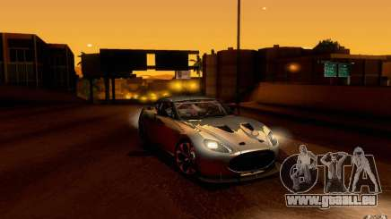 Aston Martin Zagato V12 V1.0 pour GTA San Andreas