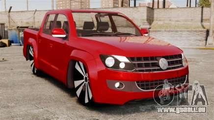 Volkswagen Amarok 2.0 TDi AWD Trendline 2012 für GTA 4