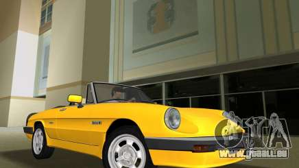 Alfa Romeo Spider 1986 pour GTA Vice City