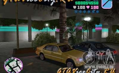 Mercedes-Benz S600 W140 pour GTA Vice City
